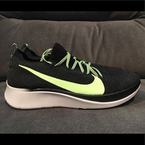 Nike Zoom Fly Flyknit Men's Running Lime Size 10
